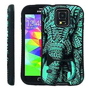 Generic Ultra Rugged Design ShockProof Armor KickStand Case (Elephant Close Up) for Iphone 5/5S