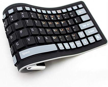 HYRL PC Rollup Laptop Teclado Compacto 103 Teclas Accesorios ...
