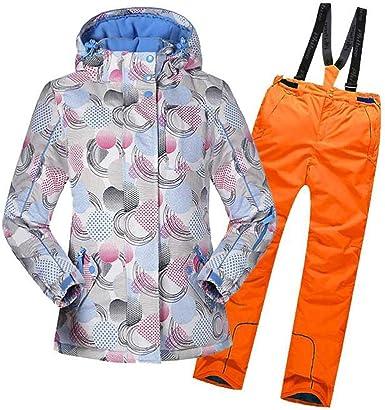 LSERVER Veste de Ski Enfant Filles Vêtement