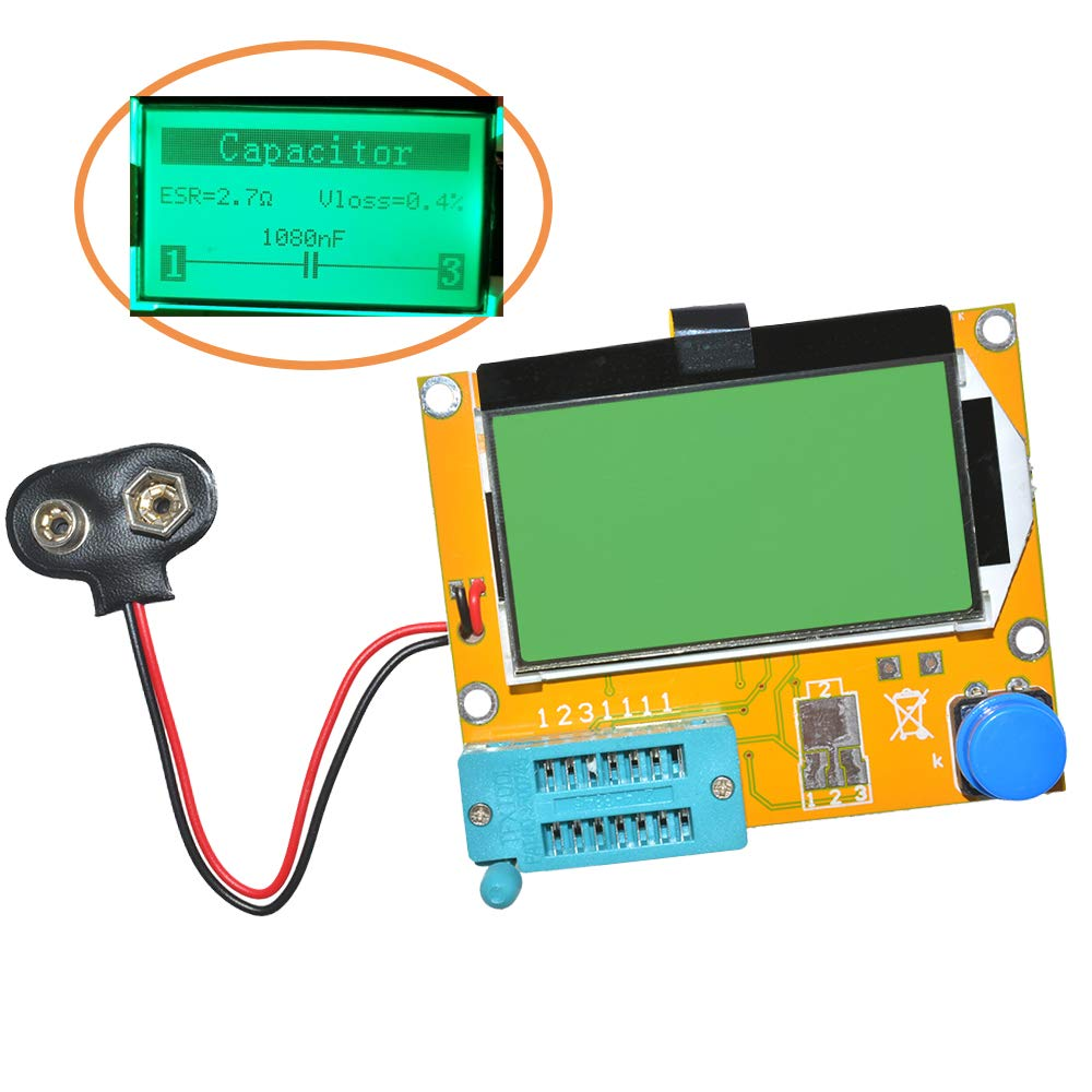 Aideepen Mega328 LCR-T4 Transistor Tester Diode