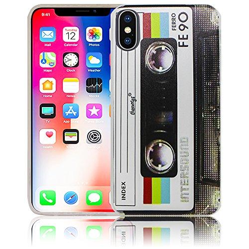 Apple iPhone X Diente de león Funda protectora de silicona Funda protectora suave Funda protectora contra el parachoques Funda protectora para teléfono móvil Funda protectora para teléfono móvil Funda casete
