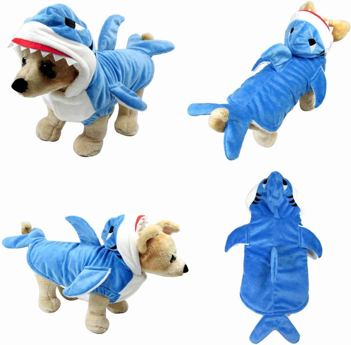 Yoption Puppy Dog Pet Halloween Costume Outwear Coat Apparel Hoodie
