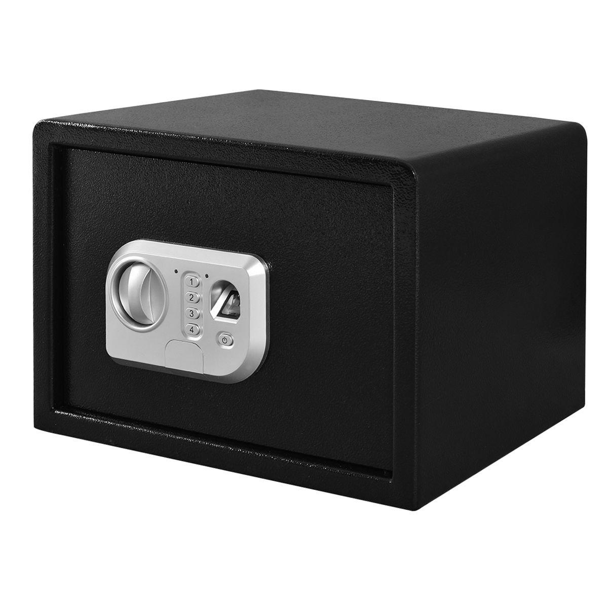Giantex 14'' Biometric Fingerprint Digital Electronic Gun Safe Box Keypad Lock Security(Without Front Slot)