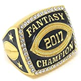Best Fantasy Football Leagues - Decade Awards 2017 Fantasy Football Champion Ring Review