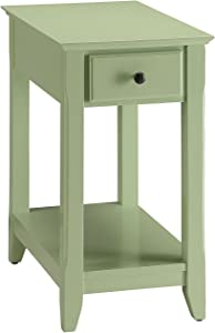 ACME Furniture Acme 82840 Bertie Side Table, Light Green, One Size