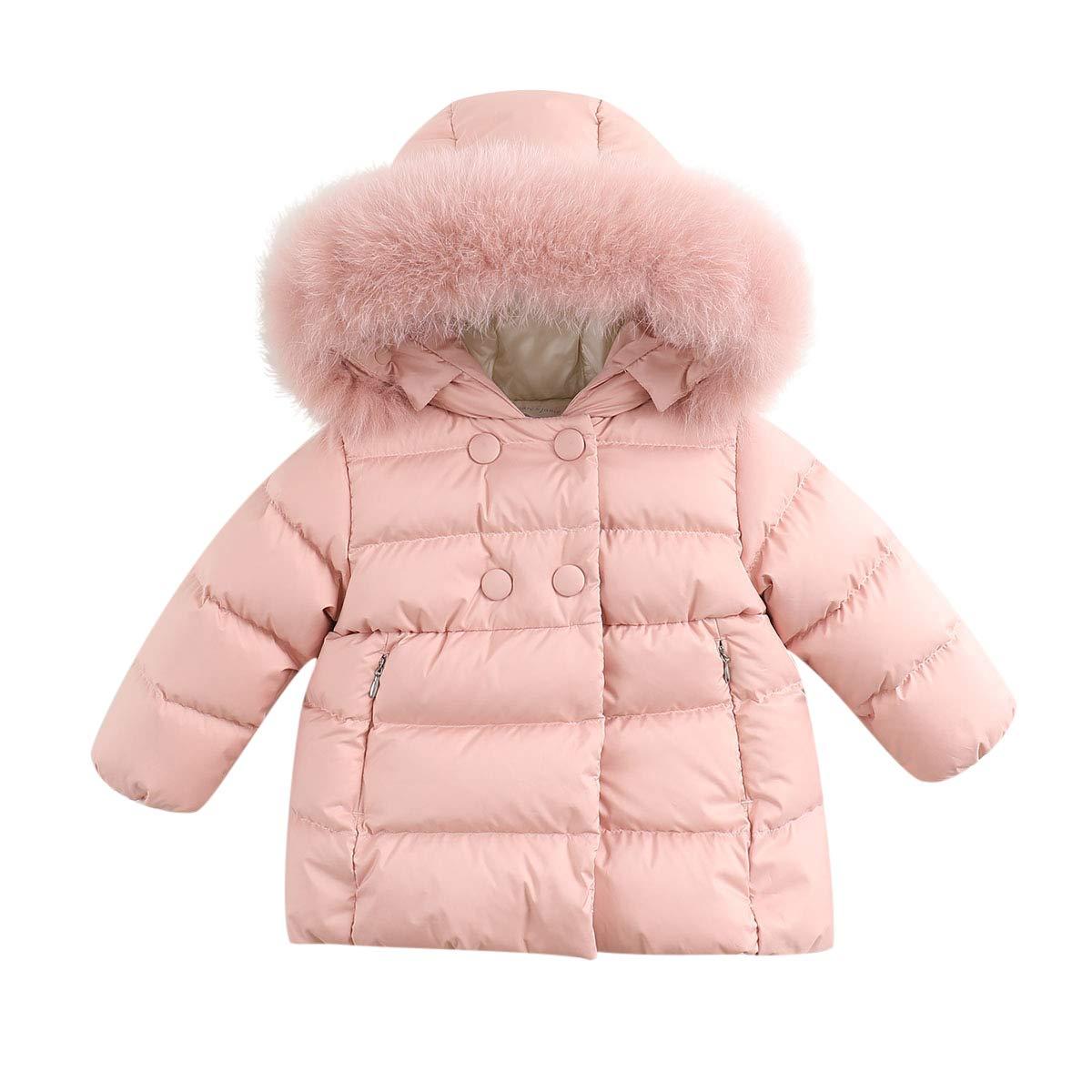 marc janie OUTERWEAR ベビーガールズ 18 Months (73 cm) Smoky Pink B07K6KM9G7