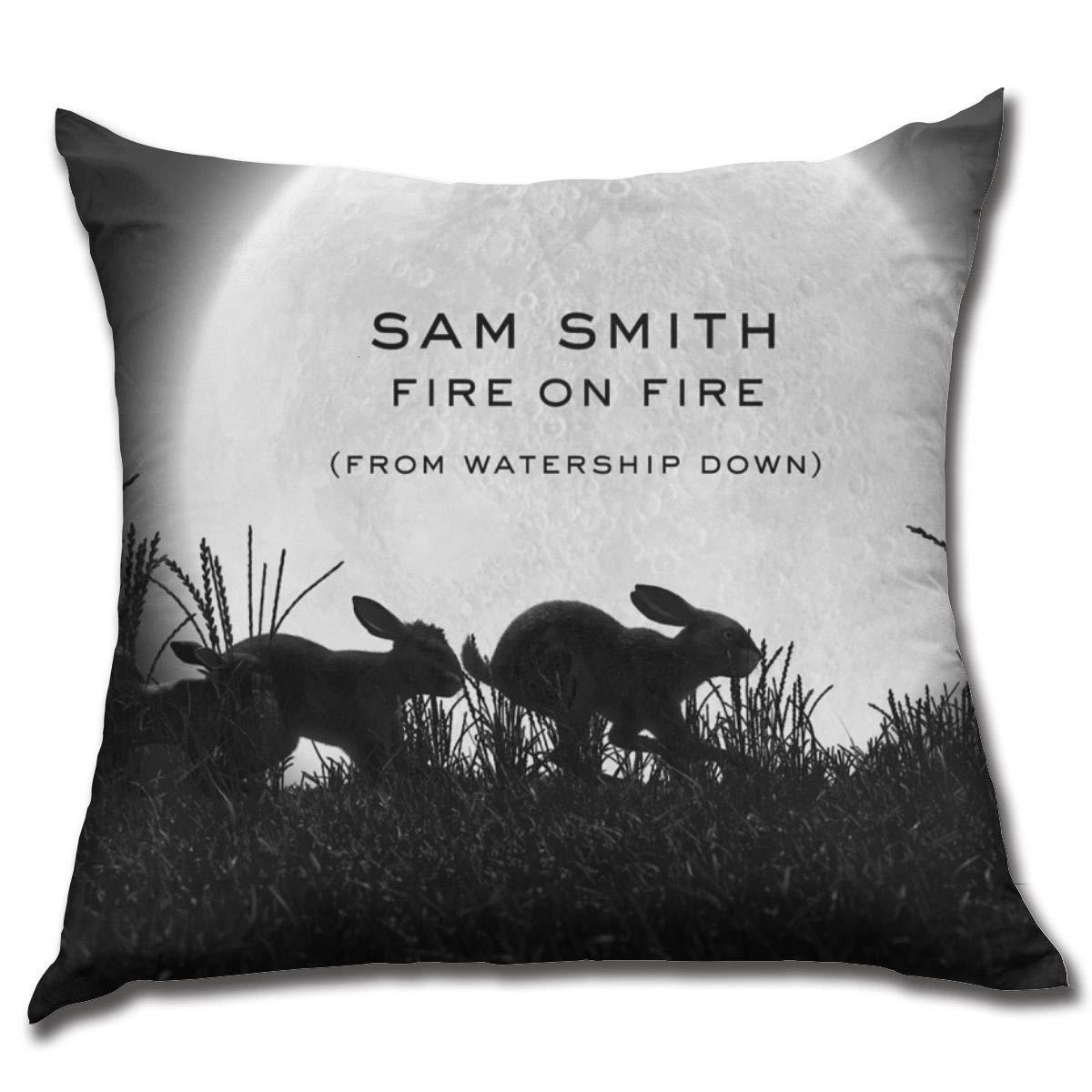 Amazon.com: PatriciaMRivas Sam Smith Single Piece Pillowcase ...