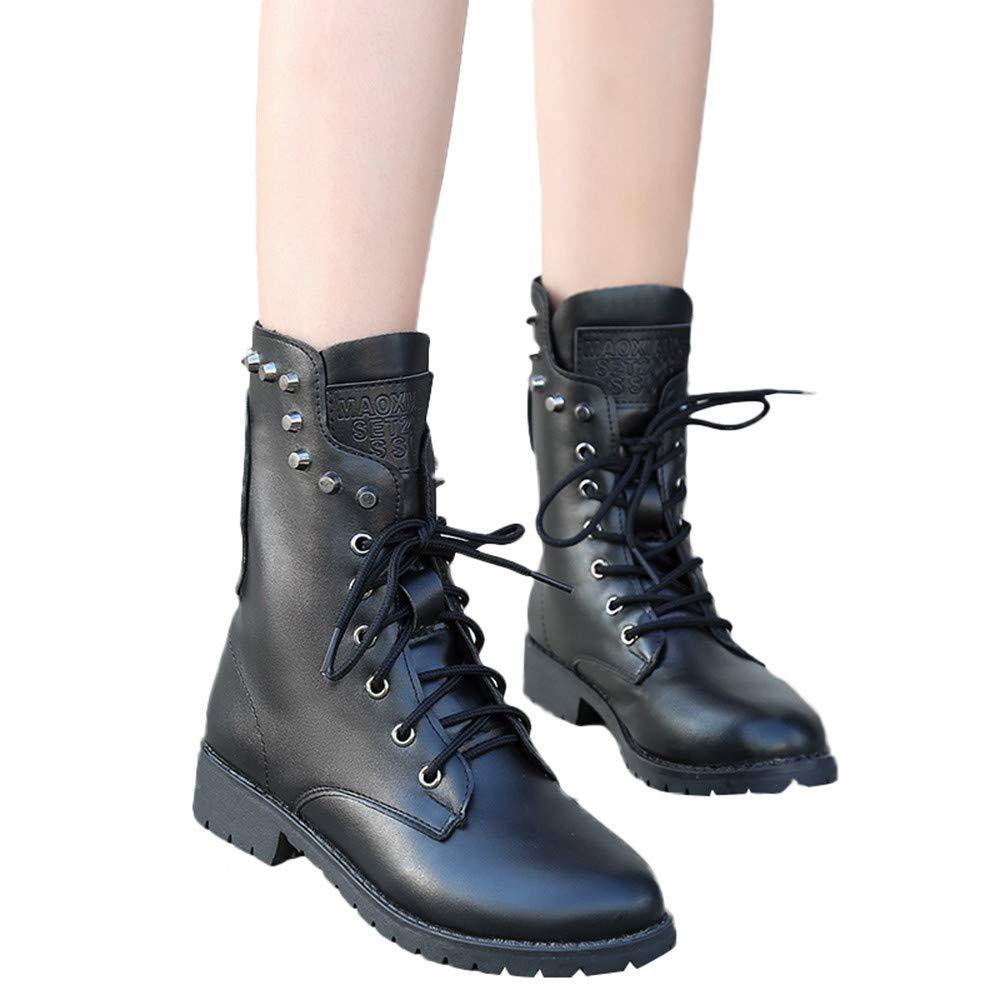 Bottes Femme Binggong Automne Hiver De noë l Boots Pointu