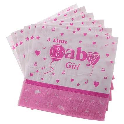Amazon.com: Paquete de 100 servilletas desechables de papel ...