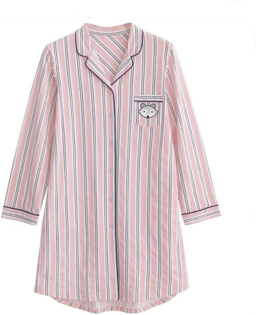 Pijamas de algodón de Manga Larga Modelos de Verano Falda del ...