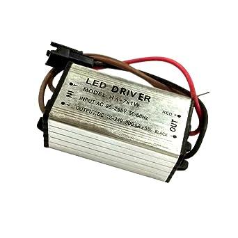 4-7W LED Light Driver Power Supply Converter Electronic Transformer Waterproof