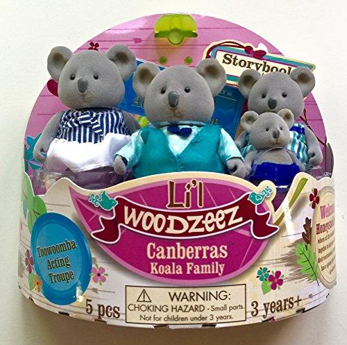 Li'l Woodzeez Canberras Koala Family