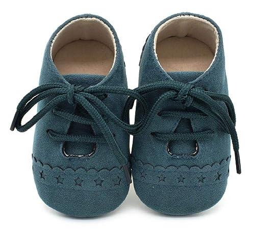 Heekpek Zapatos De Bebé para Caminar Primero Zapatos De Ante Suave para Bebés Mocasines De Bebé