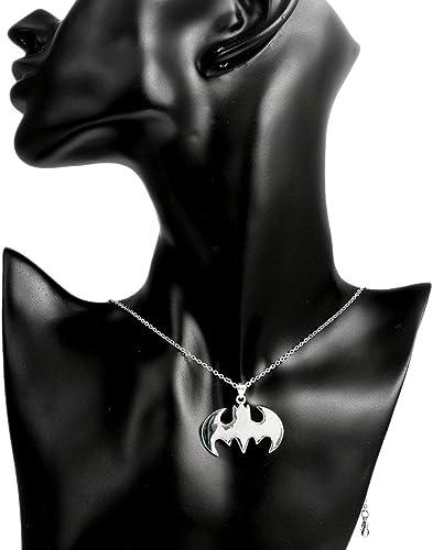 Little Bat Man Necklace Unique Pendant Collares Fashion Jewelry Gift Necklace