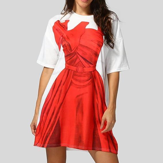 Vestido para Mujer, Diseño de Brazo Suelto, Color Liso, Vestido Delgado Delgado de Cadera, Vestido de Fiesta de Graduación, Mini Vestido de Patinaje (M): ...