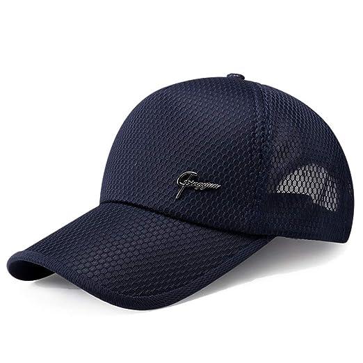 Sombrero de Hombre protección Solar Gorra de béisbol Gorra de Ocio ...