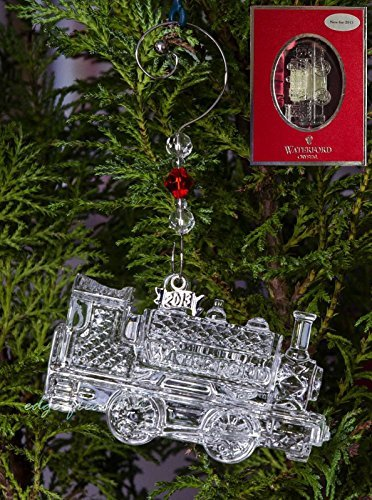 Waterford 2013 Train Engine Christmas Ornament (Engine Christmas Ornament)