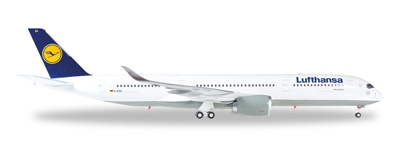 Herpa 557801 - Lufthansa Airbus A350 XWB Flugzeug