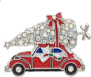 Amazon.com: kohls Silver Tone Christmas Tree Cat in VW ...