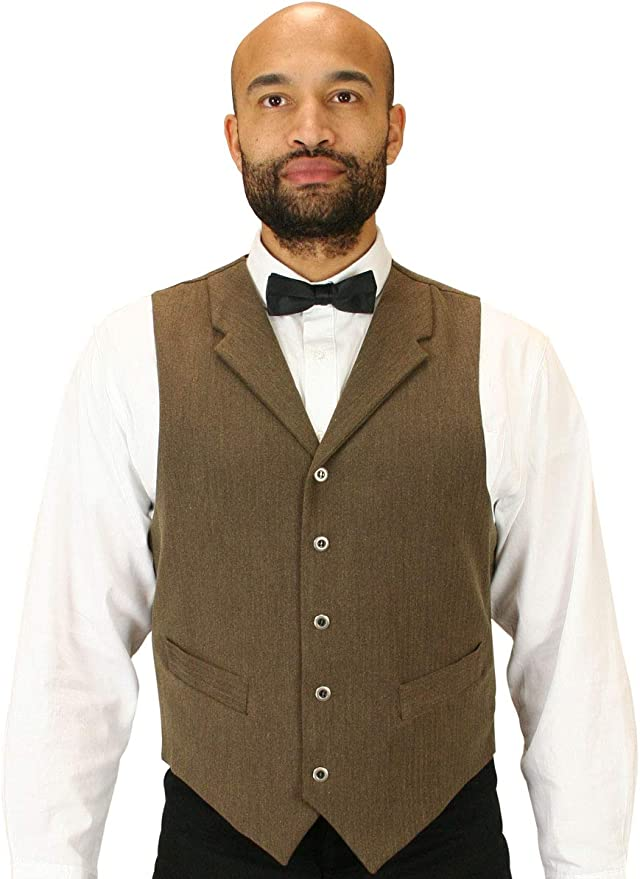 1920s Style Mens Vests Historical Emporium Mens Woven Dress Vest $68.95 AT vintagedancer.com