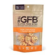 The GFB Protein Bites, Dark Chocolate Peanut Butter, 4 Ounce, Gluten Free, Non GMO