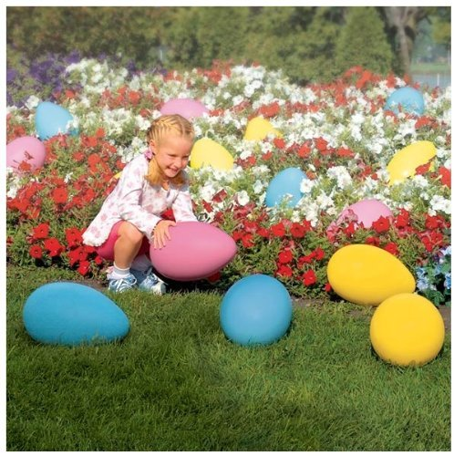 Plastic Egg Easter Decoration Made in Usa -