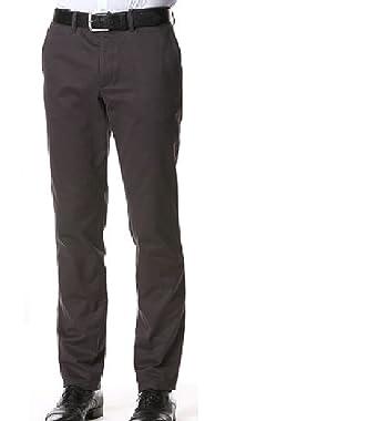 Pantalón de Traje - Básico - para niño Gris Antracita 32: Amazon ...