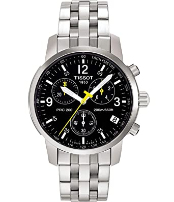 2b569b8155a Tissot T17158652 Gents Watch PRC200 Chronograph Quartz  Amazon.co.uk   Watches