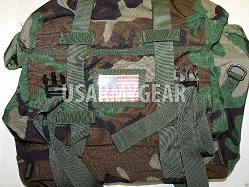 Genuine Military New Issue - Genuine Military Issue New US Army Military GI Woodland Camo Waterproof Sleep System Carrier SSC Bag MOLLE MSS