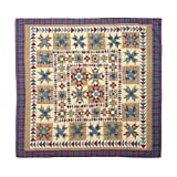 king handmade quilts - Patch Magic King Forever Quilt, 105-Inch by 95-Inch