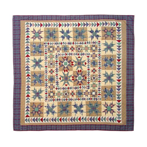 Patch Magic Twin Forever Quilt, 65-Inch by 85-Inch (Patch Magic Twin Quilts compare prices)