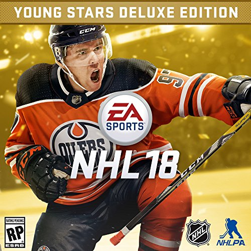 NHL 18 - Young Stars Deluxe Edition - PS4 [Digital Code] by Electronic Arts