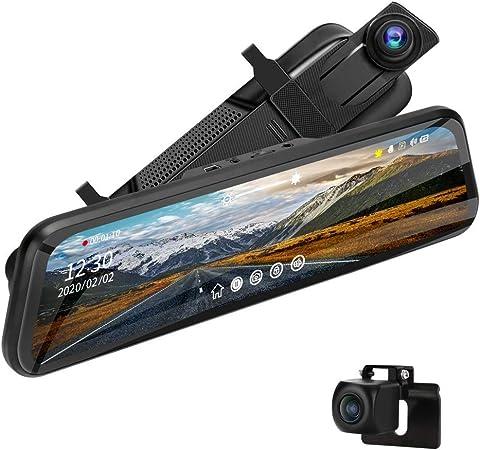 Jansite 10 Spiegel Dashcam Mit Hardwire Kit 24h Elektronik
