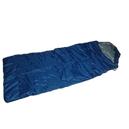 Camping Tamaño Adulto con capucha impermeable saco de dormir 0 – 15 C Grados, color