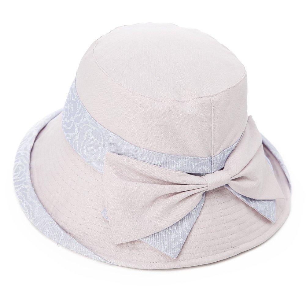 SIGGI Womens UPF50+ Summer Sunhat Bucket Packable Wide Brim Hats w/Chin Cord CM69117-2