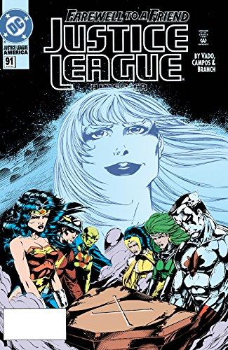 Justice League America (1987-1996) #91 (Justice League of America (1987-1996)) (Justice League America 91)