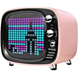 Divoom Tivoo Pink Bluetoothスピーカー【日本正規代理店品】ピンク ブルートゥース ゲームも楽しめるスピーカー 4580395343785 4580395343785