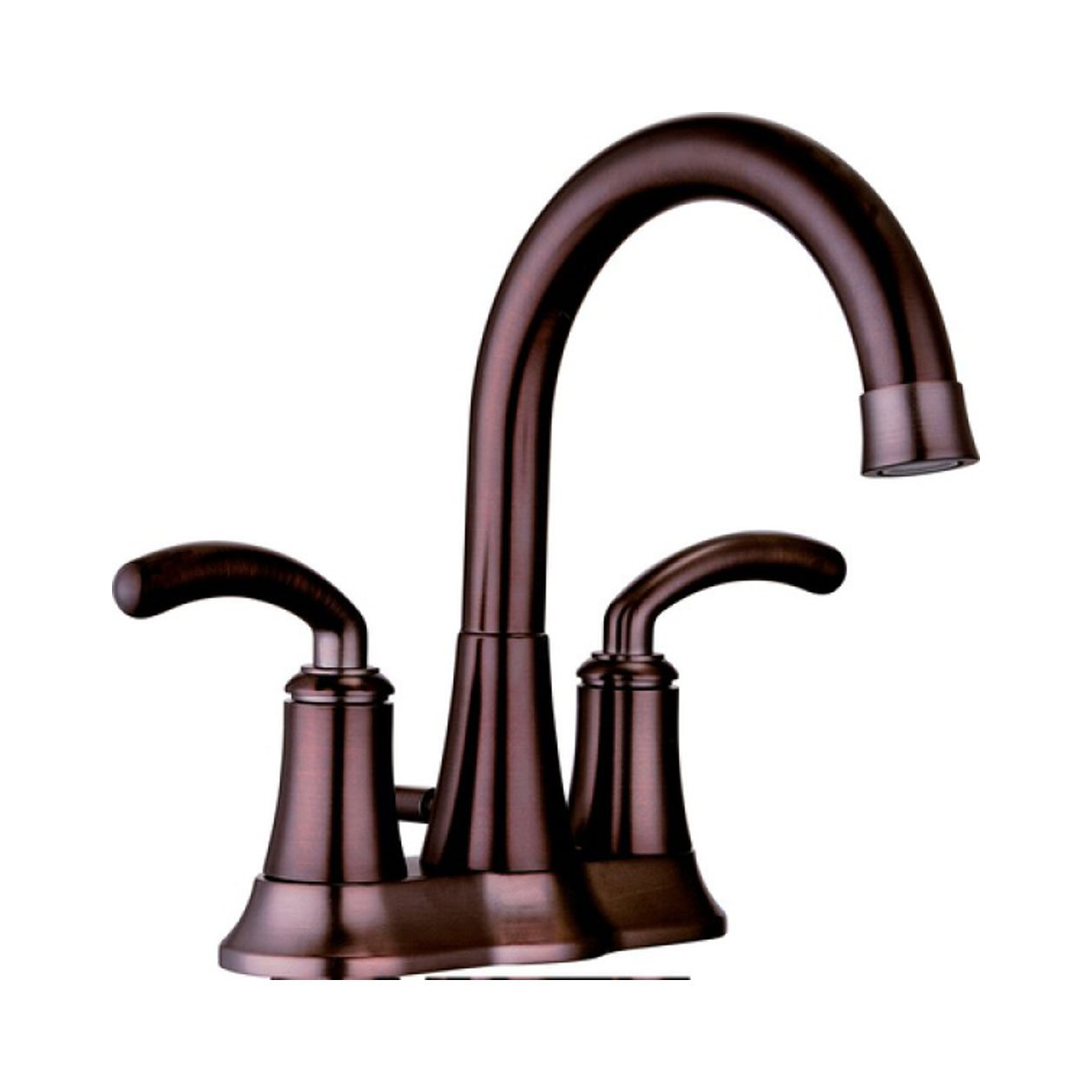 Yosemite Home Decor YP5704-ORB Two Handle Centerset Lavatory Faucet with Pop-up Drain, Oil Rubbed Bronze
