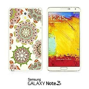 OnlineBestDigital - National Pattern Hardback Case for Samsung Galaxy Note 3 N9000 - Pink Floral Pattern