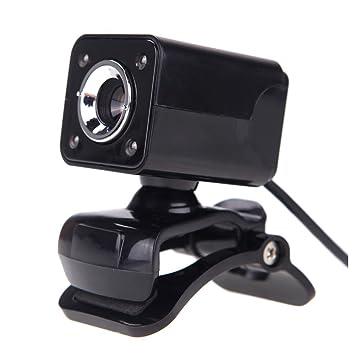 TOOGOO(R) USB 2.0 12 megapixeles Camara de alta definicion Camara web con microfono