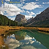 Wyoming, Wild & Scenic 2018 12 x 12 Inch Monthly Square Wall Calendar, USA United States of America Midwest State Nature
