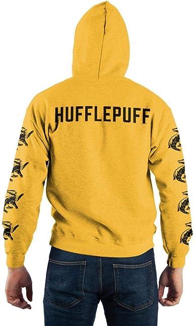 Harry Potter Hoodie Quidditch Hoodie Top Jumper Personalised hufflepuff