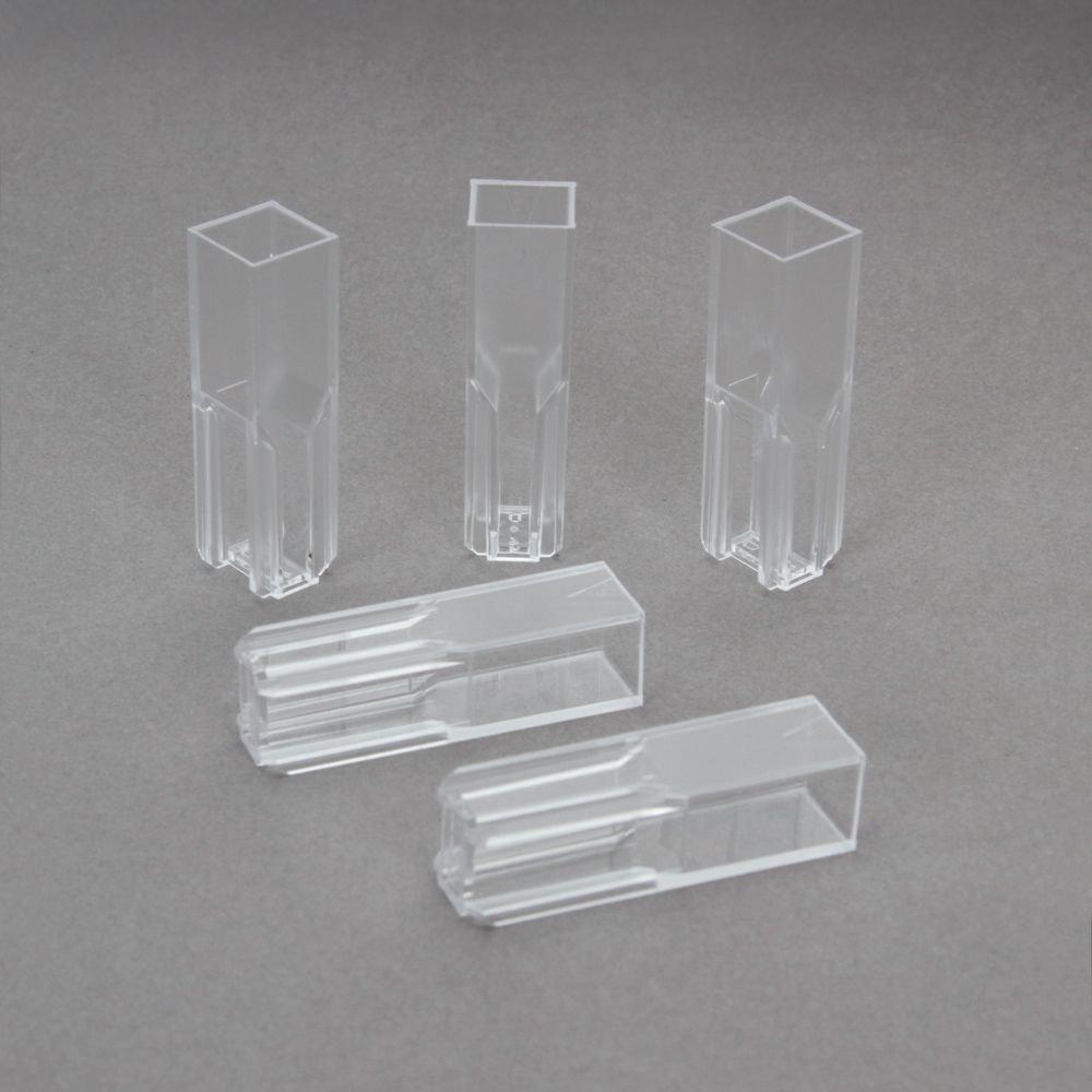 Spectronic Plastic (polystyrene) Semi-Micro Cuvette, Pack of 25