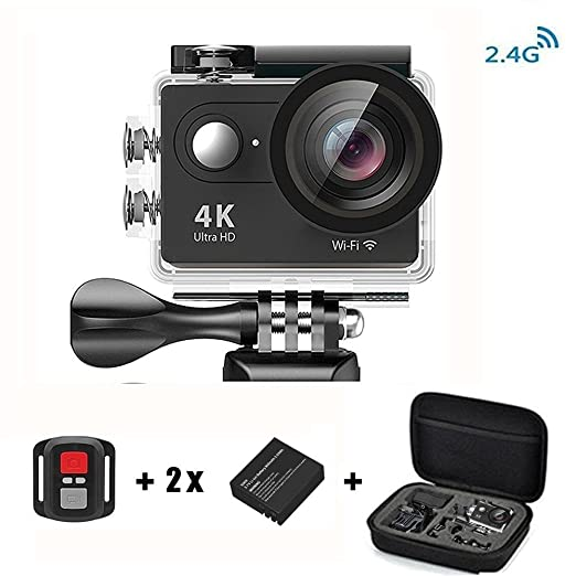 321 opinioni per Daping 4K Action Cam Action camera Full HD 1080P 12MP Sport Camera Impermeabile
