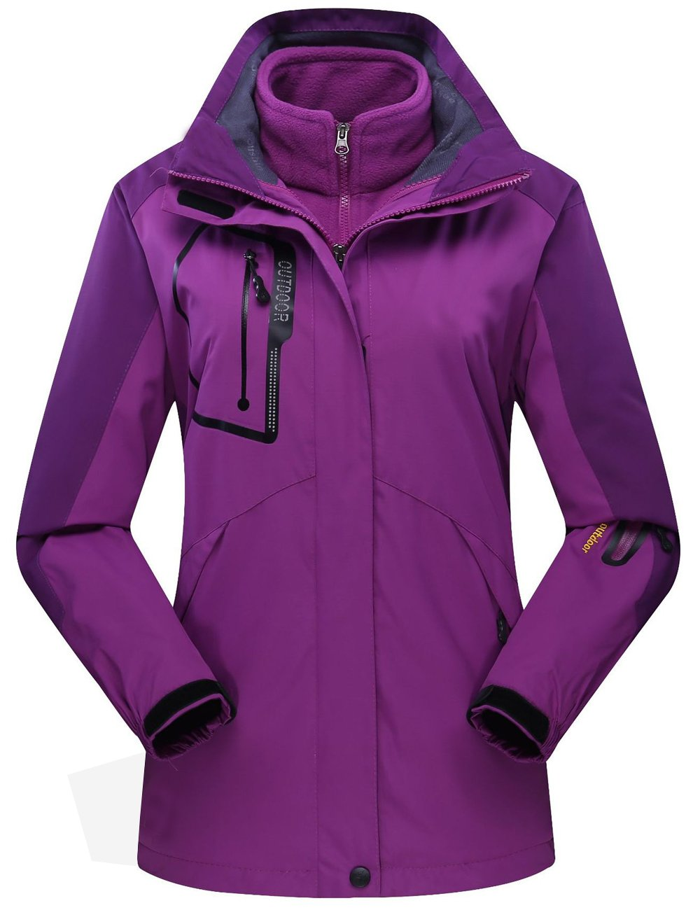 CUKKE OUTERWEAR レディース B0785H7THS S|Purple Nv1201a Purple Nv1201a S