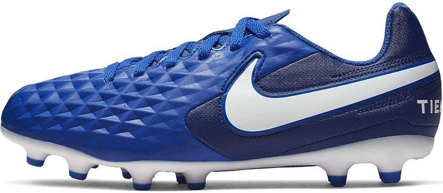 compre los más vendidos nuevo autentico última venta Amazon.com | Nike Jr Legend 8 Club FG (6) Royal Blue | Soccer
