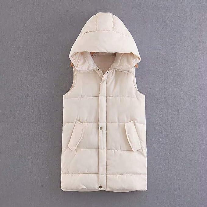 Amazon.com: Makeupstore Blouse Women Long Sleeve,Fashion Womens Hooded Down Vest Outdoor Vest Jacket Pocket Coat: Clothing