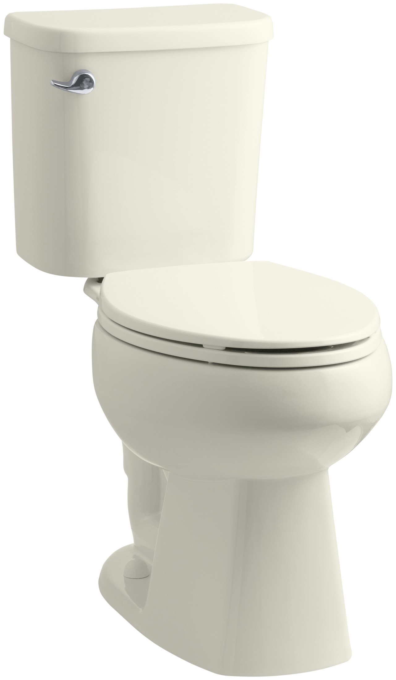Sterling Windham ADA Luxury Height 1.28 GPF Toilet with Pro Force Technology, Biscuit