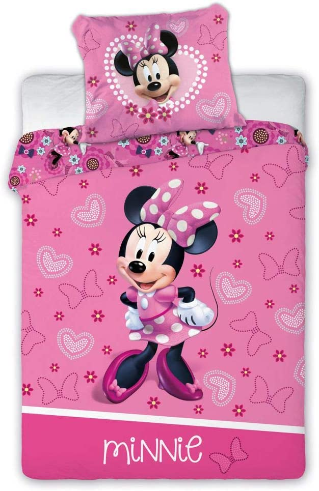 Minnie Mouse Ropa de Cuna 178 100x135CM 40x60 CM