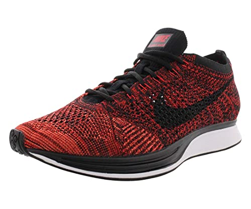 size 40 87f6b d444f Nike Flyknit Racer Unisex Running Trainers 526628 Sneakers Shoes (7 D(M)  US, University red Black 608)  Buy Online at Low Prices in India - Amazon.in